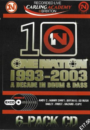 One Nation - 1993-2003 - A decade In DNB - CD Pack